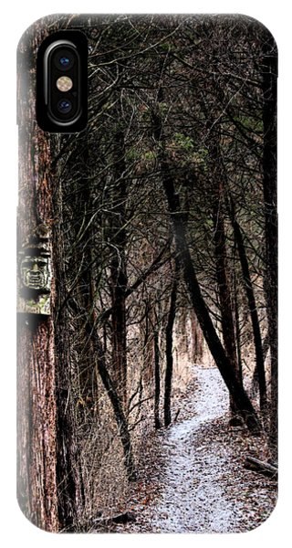 Gently Into The Forest My Friend IPhone Case