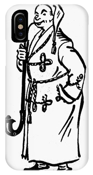 Pajama iPhone X Case - Germany: Cousin Michael by Granger