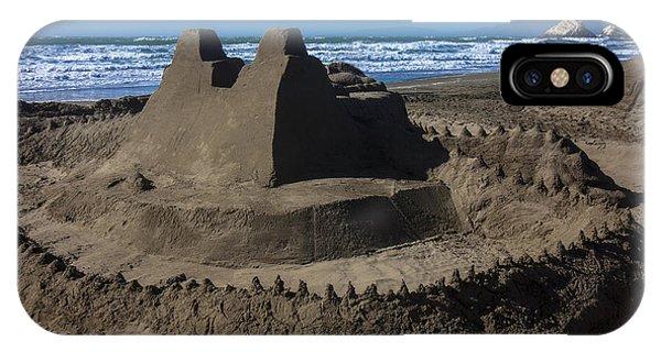 Giant Sand Castle IPhone Case