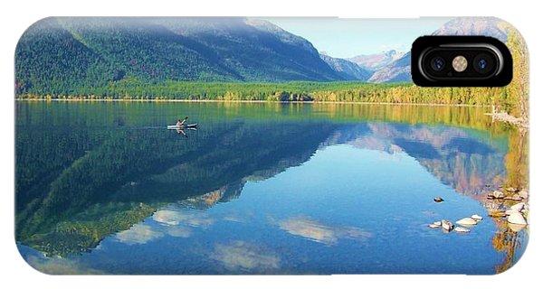 Glacier Park Magic IPhone Case