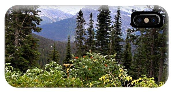 Glacier Scenery IPhone Case