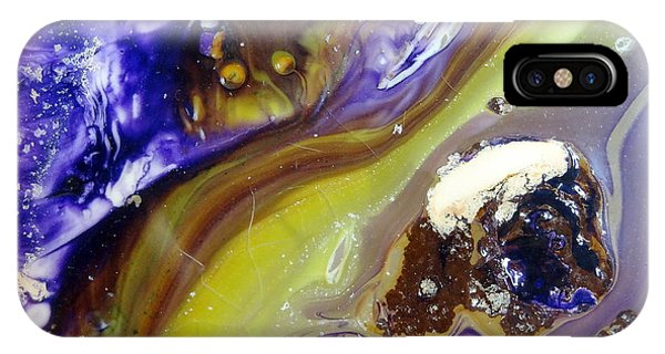 Glass Painting 24 Detail 3 IPhone Case