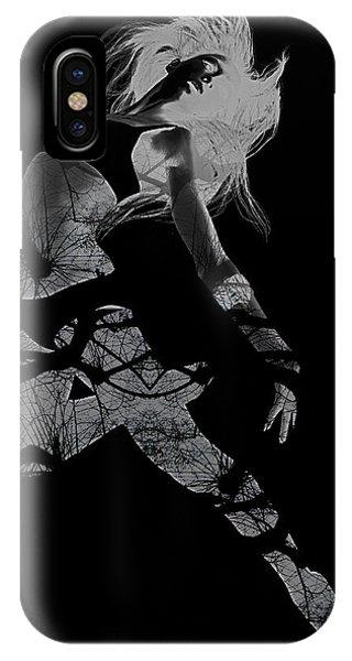 Dancing iPhone Case - Gliding by Naxart Studio
