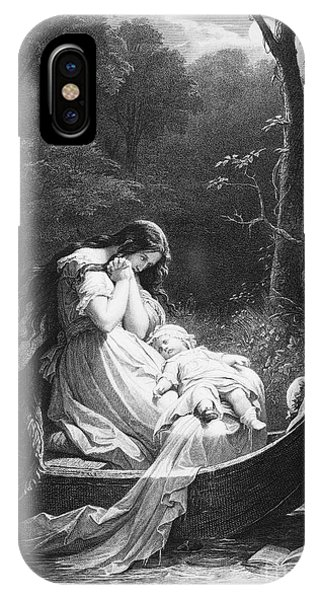 Drown iPhone Case - Goethe: Elective Affinities by Granger