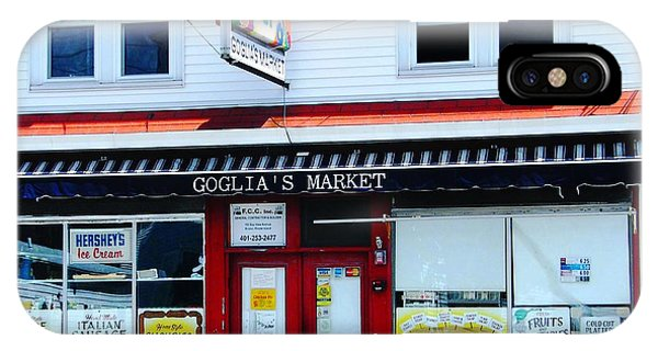 Goglias Market Bristol Ri IPhone Case