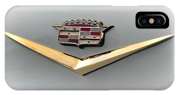Gold Badge Cadillac IPhone Case