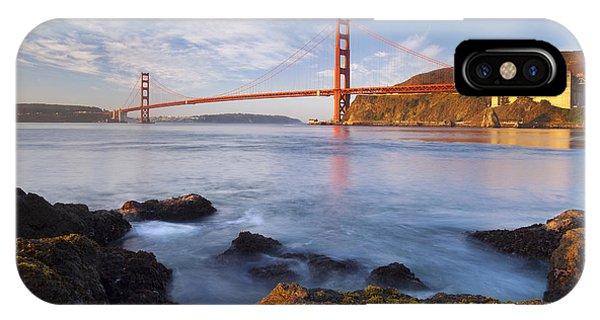 Golden Gate At Dawn IPhone Case