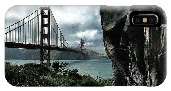 IPhone Case featuring the photograph Golden Gate Bridge - 4 by Mark Madere