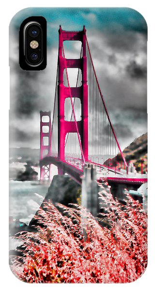 IPhone Case featuring the photograph Golden Gate Bridge - 5 by Mark Madere