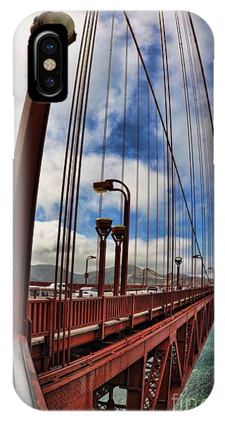 IPhone Case featuring the photograph Golden Gate Bridge - 7 by Mark Madere