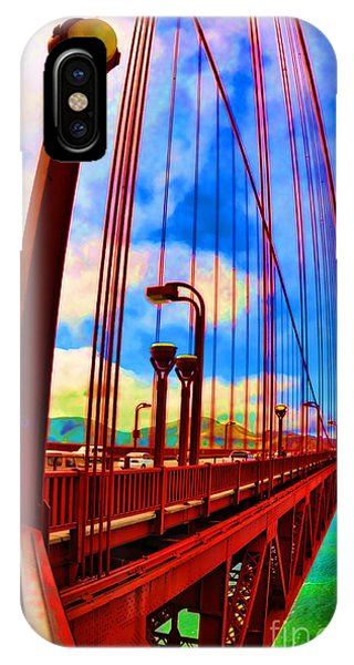 IPhone Case featuring the photograph Golden Gate Bridge - 8 by Mark Madere