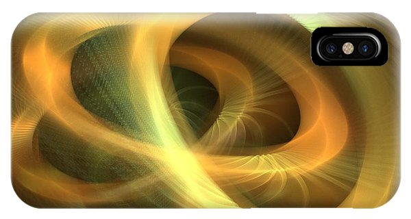 Golden Rings IPhone Case