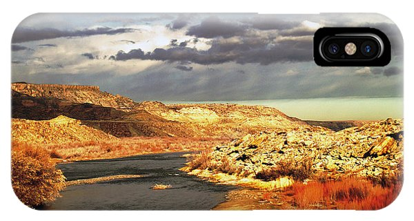 Golden San Juan River IPhone Case