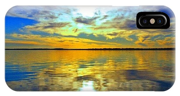 Sunset iPhone Case - Golden Sunset IIi by James Granberry