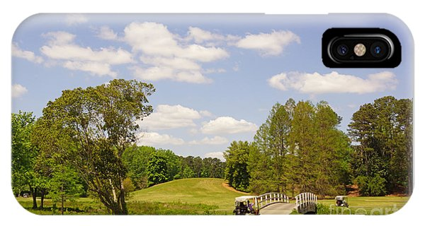 Golf At Calloway Gardens IPhone Case
