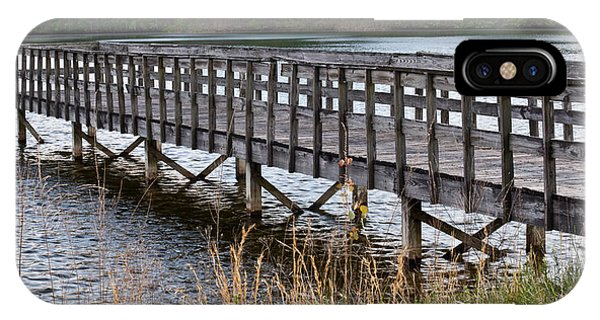 Crossville iPhone X Case - Golf Course Pier by Douglas Barnett