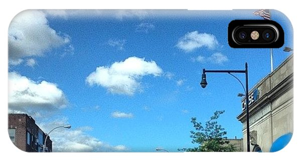 Sunny Days iPhone Case - Good Morning!!! Beautiful Day In Nyc by Yiddy W