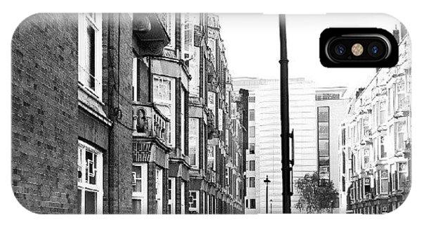 Good Morning #london IPhone Case