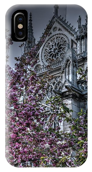 Gothic Paris IPhone Case