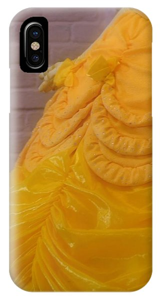 Gown Of A Princess IPhone Case