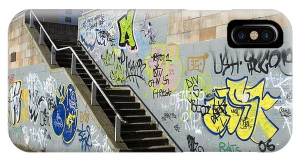 Graffiti Phone Case by Mark Williamson