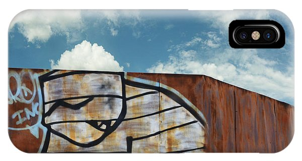 Aggie iPhone Case - Graffiti Monster by Nikki Marie Smith