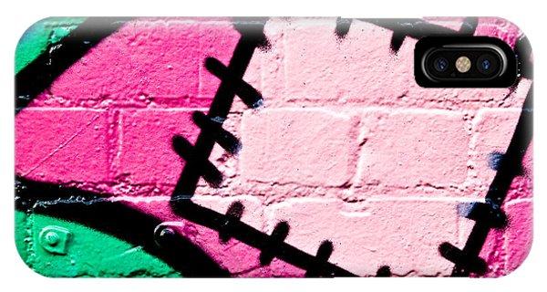 Graffiti Patch Closeup IPhone Case