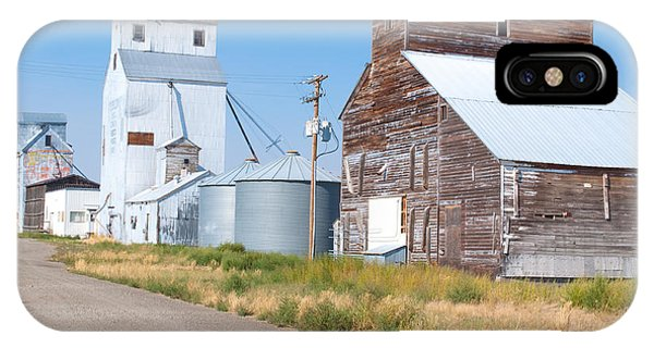 IPhone Case featuring the photograph Grain Elevators by Fran Riley