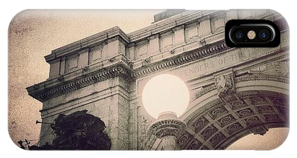 School iPhone Case - Grand Army Plaza Arch -  Brooklyn Ny by Joel Lopez