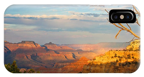Grand Canyon Splendor - With Quote IPhone Case