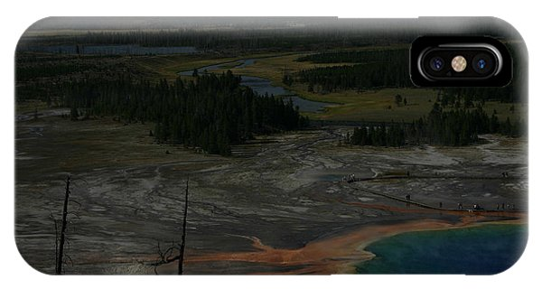 Grand Prismatic Spring Yellowstone National Park IPhone Case