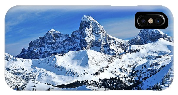 Grand Teton Winter IPhone Case