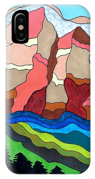 Grand Tetons IPhone Case