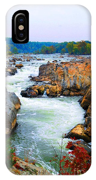 Great Falls On The Potomac River In Virginia IPhone Case