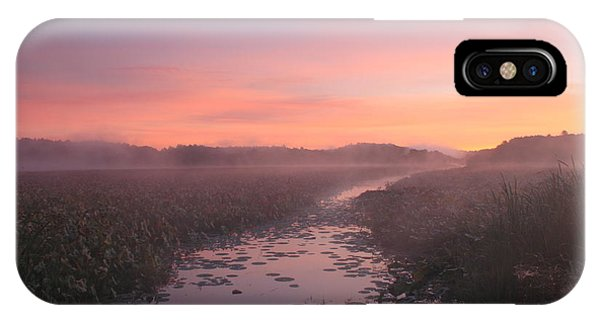 Great Meadows National Wildlife Refuge Dawn IPhone Case