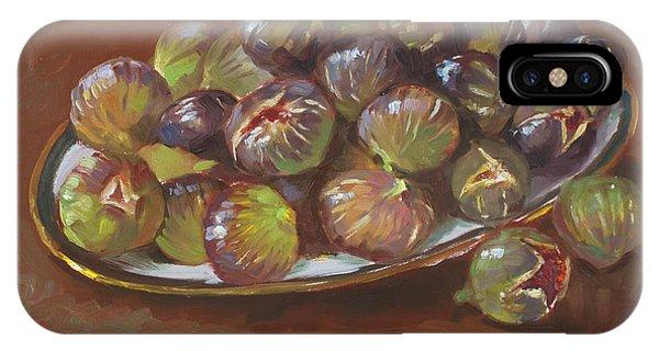School iPhone Case - Greek Figs by Ylli Haruni