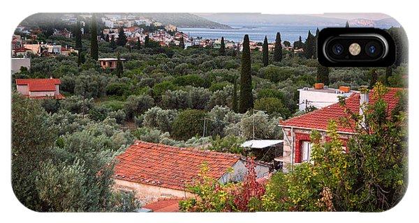 Greece iPhone Case - Greek Village  by Emmanuel Panagiotakis