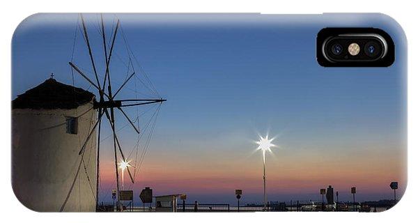 Greece iPhone Case - greek windmill - Cyclades by Joana Kruse