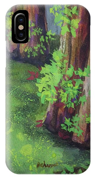 Green Cypress IPhone Case