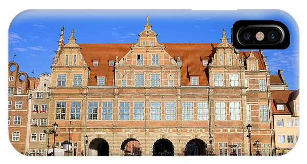 Pomeranian iPhone Case - Green Gate In Gdansk by Artur Bogacki