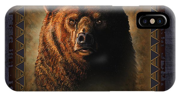 Anima iPhone Case - Grizzly Lodge by JQ Licensing