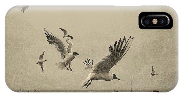 Gulls IPhone Case