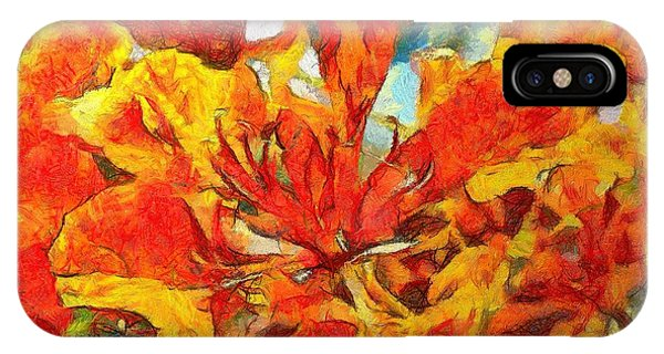 Gulmohar IPhone Case