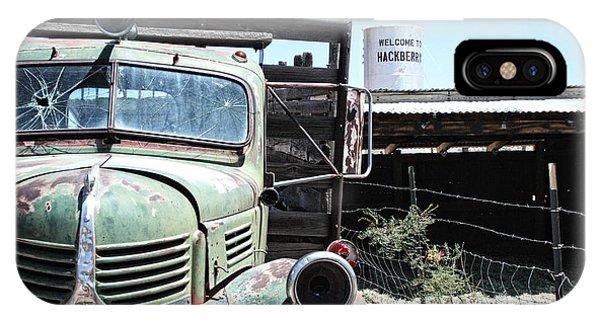 Hackberry Arizona Route 66 IPhone Case