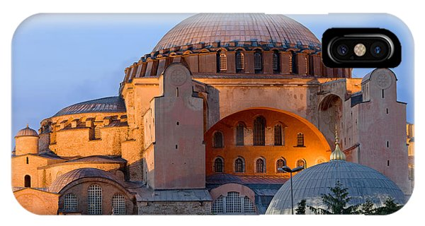Hagia Sophia At Dusk IPhone Case