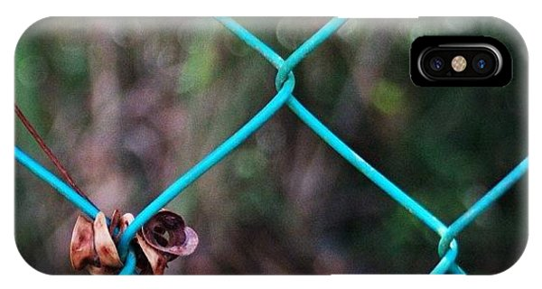 Political iPhone Case - Hanging To The Fence, By My Lens by Ahmed Oujan