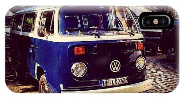 Vw Bus iPhone Case - #hansefamous #igershamburg by Ilan Mizrahi