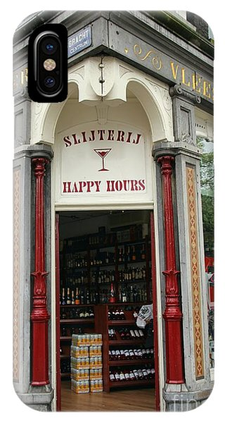 Happy Hours Liquor Store Phone Case by Sophie Vigneault