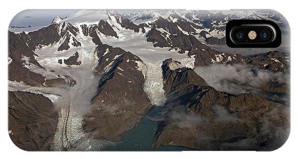 Harker And Hamberg Glacier IPhone Case