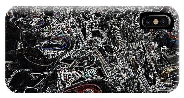 Harley Davidson Style IPhone Case